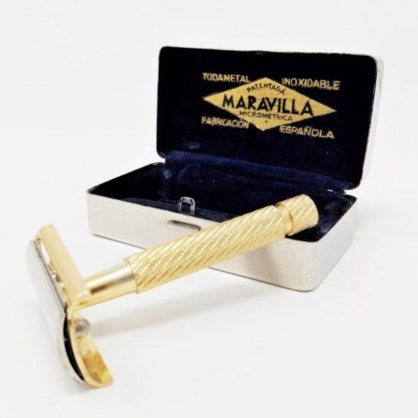 Maquinilla de afeitar vintage MARAVILLA