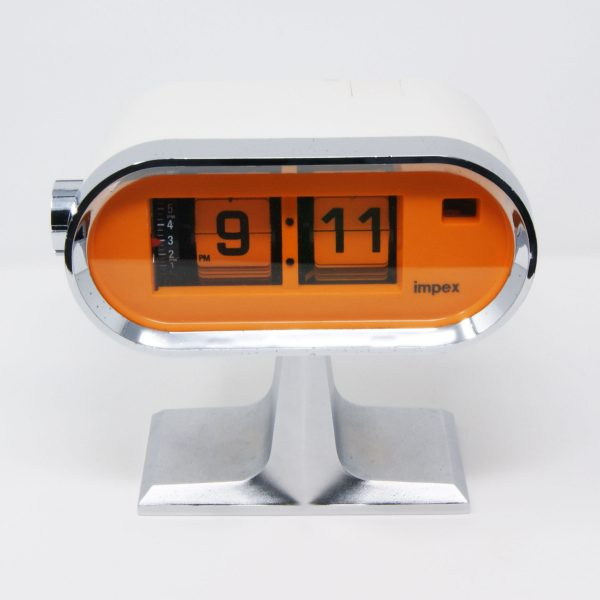 Reloj vintage flip-clock IMPEX