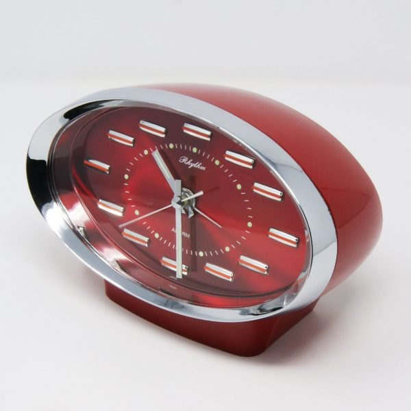 Reloj despertador vintage Rhythm