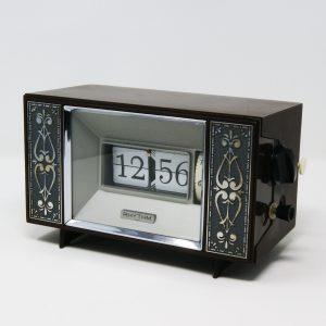 Reloj despertador vintage flip clock Rhythm
