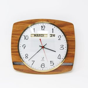 Reloj de pared años 70 Jaz Transistor