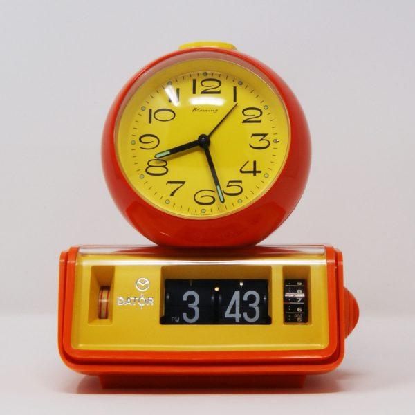 Reloj despertador flip clock DATOR (New Old Stock)