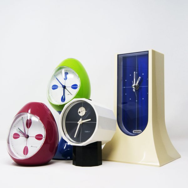 Reloj de escritorio Space age Impex-Rhythm