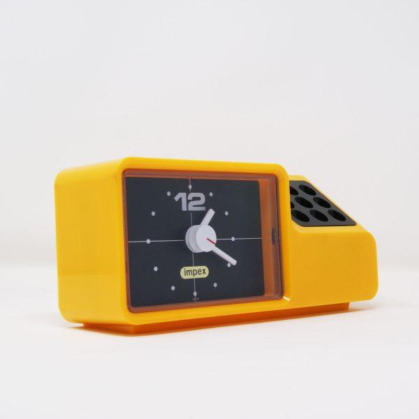 Desk Clock Impex-Rhythm space age