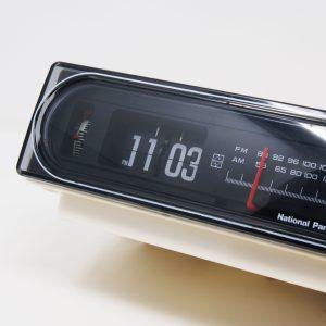 Flip clock Back to the Future National Panasonic