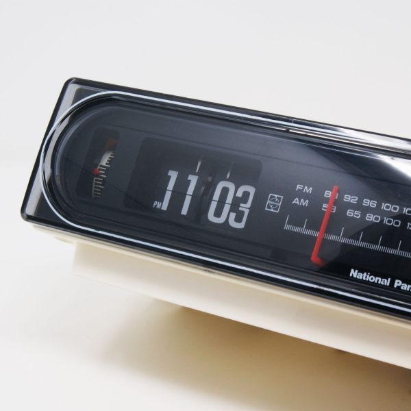 Flip clock Back to the Future National Panasonic